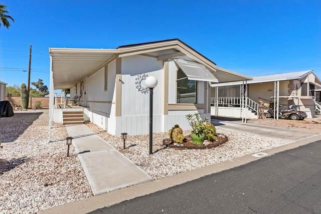 652 S Ellsworth Road #48, Mesa, AZ 85208 (MLS #6311571) :: Long Realty West Valley