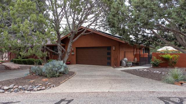 120 Blackjack Drive, Sedona, AZ 86351 (MLS #6311932) :: The Riddle Group