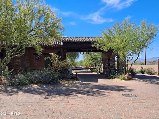 0 W Monte Vista Trail, Wickenburg, AZ 85390 (MLS #6313205) :: Team Faber
