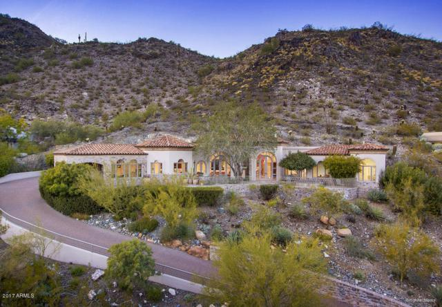 4560 E Foothill Drive, Paradise Valley, AZ 85253 (MLS #5670514) :: The Wehner Group