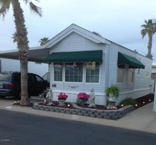 3710 S Goldfield Road #695, Apache Junction, AZ 85119 (MLS #5702674) :: Brett Tanner Home Selling Team