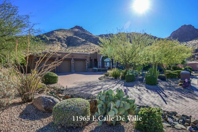 11965 E Calle De Valle Drive, Scottsdale, AZ 85255 (MLS #5711980) :: Santizo Realty Group