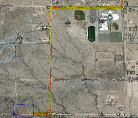 0 W Rhea Road, Queen Creek, AZ 85142 (MLS #5712769) :: Brett Tanner Home Selling Team