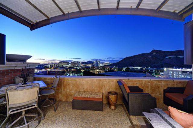 21 E 6TH Street #701, Tempe, AZ 85281 (MLS #5715423) :: Kepple Real Estate Group