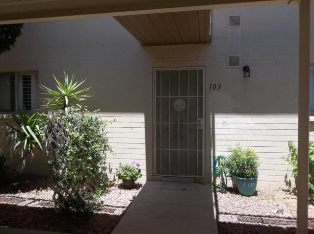 825 N Hayden Road C103, Scottsdale, AZ 85257 (MLS #5764240) :: Brett Tanner Home Selling Team