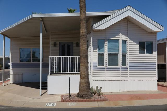 3710 S Goldfield Road #178, Apache Junction, AZ 85119 (MLS #5788164) :: The Daniel Montez Real Estate Group
