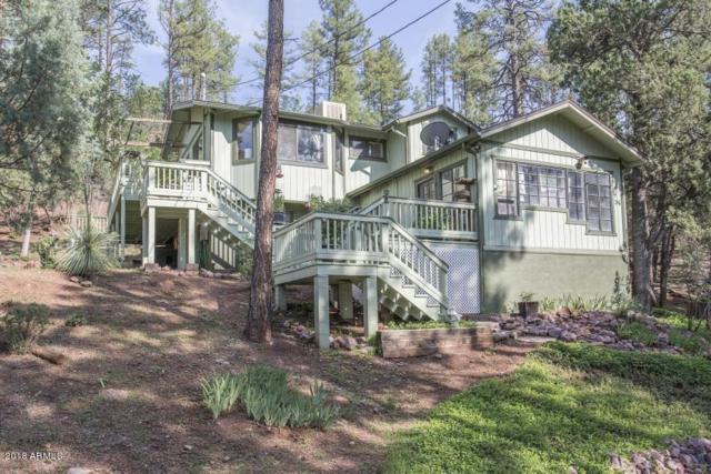 3877 Whispering Pines Road, Pine, AZ 85544 (MLS #5807493) :: Brett Tanner Home Selling Team