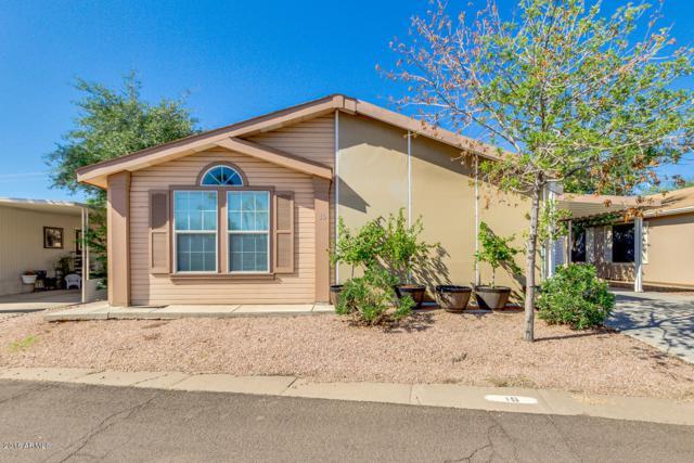 201 S Greenfield Road #15, Mesa, AZ 85206 (MLS #5835952) :: The Daniel Montez Real Estate Group