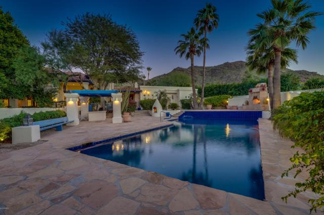 7611 N Shadow Mountain Road, Paradise Valley, AZ 85253 (MLS #5845449) :: Riddle Realty