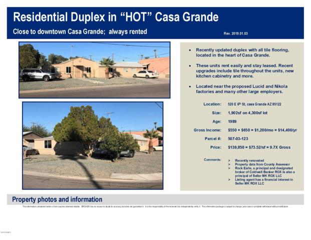 520 E 6TH Street, Casa Grande, AZ 85122 (MLS #5857282) :: Yost Realty Group at RE/MAX Casa Grande