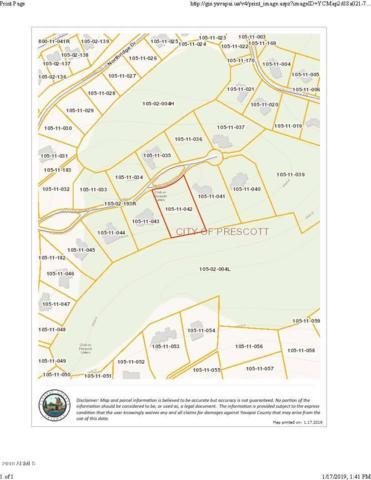 1041 Vantage Point Circle, Prescott, AZ 86301 (MLS #5869011) :: The Wehner Group
