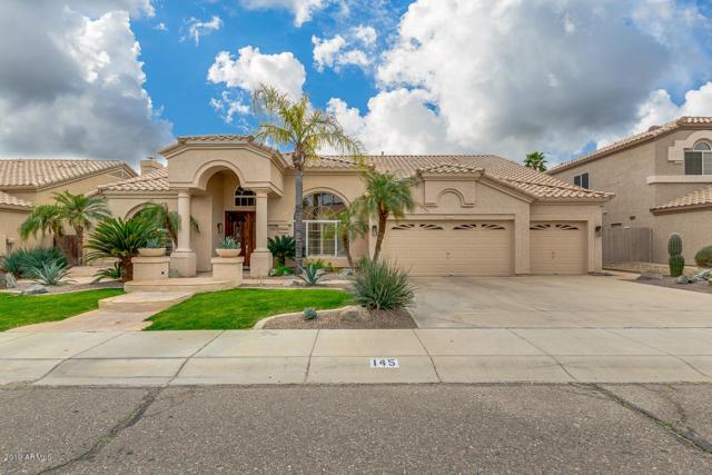 145 W Nighthawk Way, Phoenix, AZ 85045 (MLS #5882063) :: The W Group