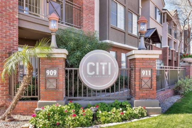 909 E Camelback Road #3011, Phoenix, AZ 85014 (MLS #5938813) :: Kepple Real Estate Group