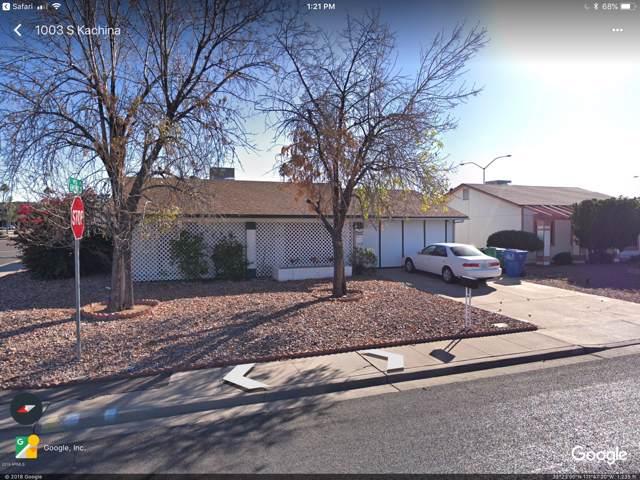 1003 S Kachina Drive, Mesa, AZ 85204 (MLS #5951596) :: CC & Co. Real Estate Team