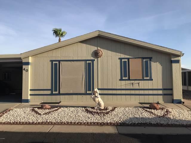 2208 W Baseline Avenue #40, Apache Junction, AZ 85120 (MLS #5957525) :: Brett Tanner Home Selling Team