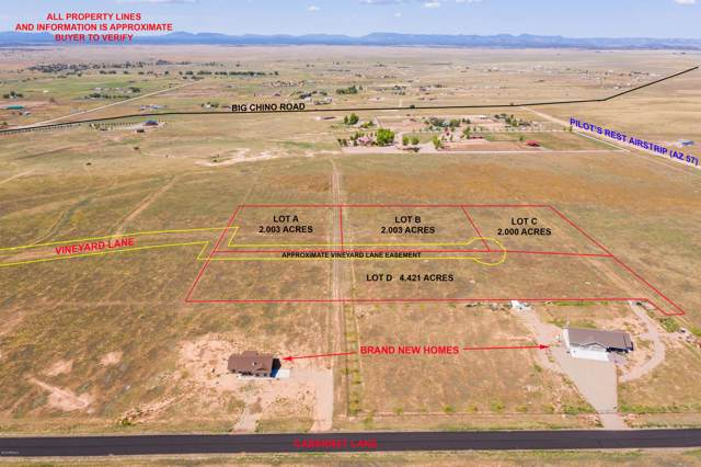 Lot C N Vineyard Lane, Paulden, AZ 86334 (MLS #5985834) :: Yost Realty Group at RE/MAX Casa Grande