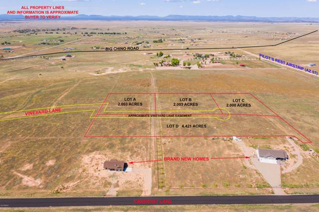 Lot D N Vineyard Lane, Paulden, AZ 86334 (MLS #5985847) :: Yost Realty Group at RE/MAX Casa Grande