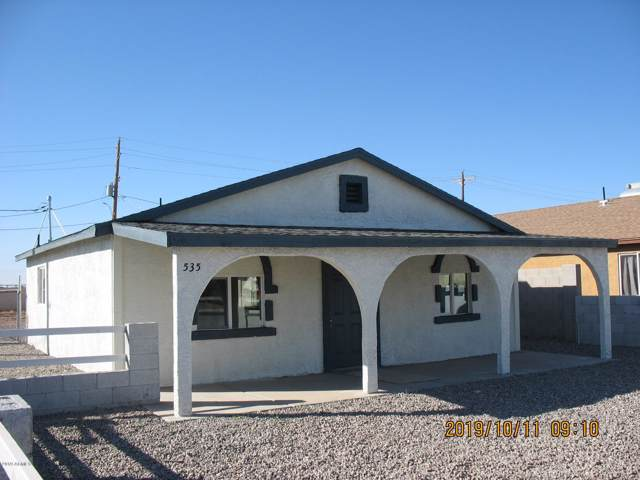 535 W Dewey Avenue, Coolidge, AZ 85128 (MLS #5991086) :: The Daniel Montez Real Estate Group