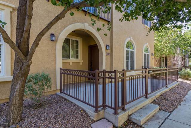 4758 E Waterman Street #102, Gilbert, AZ 85297 (MLS #5991455) :: Relevate | Phoenix
