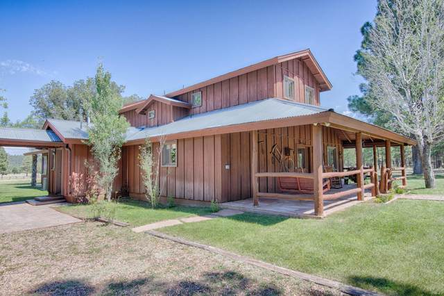 9957 Porter Mountain Road, Lakeside, AZ 85929 (MLS #5992396) :: Long Realty West Valley
