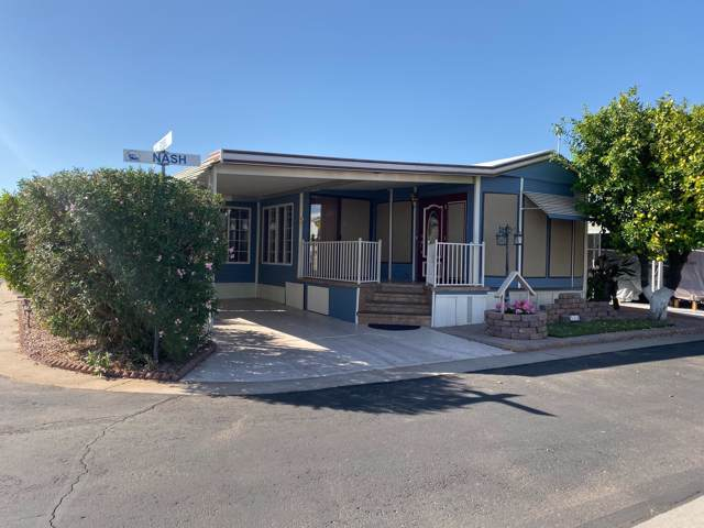 7750 E Broadway Road #324, Mesa, AZ 85208 (MLS #5993004) :: Lucido Agency
