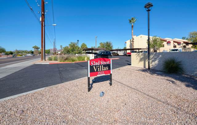 2515 N 52ND Street #107, Phoenix, AZ 85008 (MLS #6003082) :: The Laughton Team