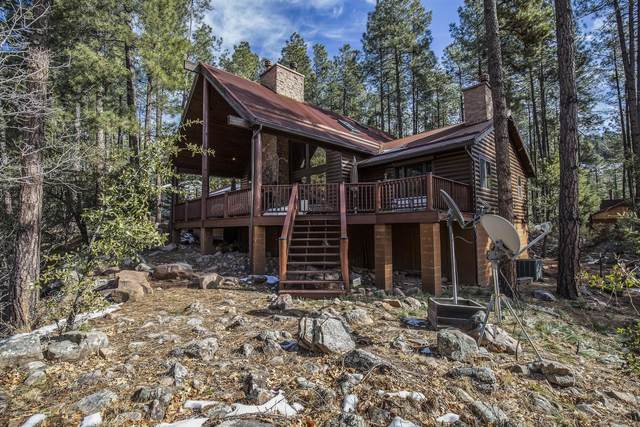 252 N Tonto Rim Ranch Road, Payson, AZ 85541 (MLS #6024324) :: Riddle Realty Group - Keller Williams Arizona Realty