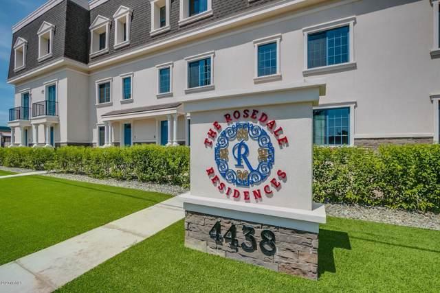 4438 N 27th Street #12, Phoenix, AZ 85016 (MLS #6026800) :: Brett Tanner Home Selling Team