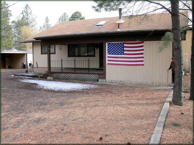1241 W Pima Lane, Pinetop-Lakeside, AZ 85929 (MLS #6037258) :: The Property Partners at eXp Realty