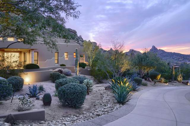 11015 E Troon Mountain Drive, Scottsdale, AZ 85255 (MLS #6040592) :: The Results Group