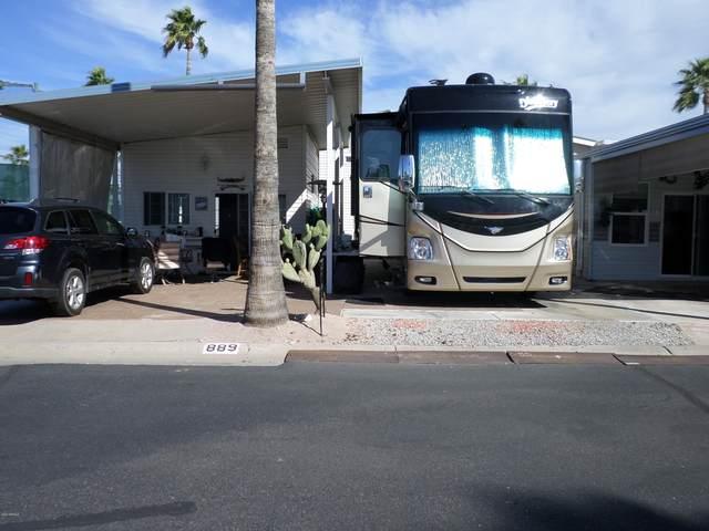 889 Nightdigger Drive, Apache Junction, AZ 85119 (MLS #6045873) :: Brett Tanner Home Selling Team