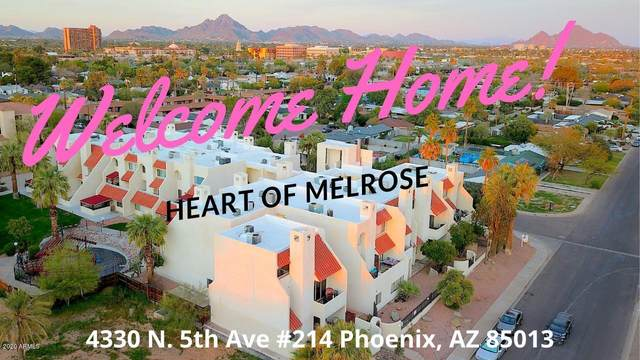 4330 N 5TH Avenue #214, Phoenix, AZ 85013 (MLS #6065406) :: Klaus Team Real Estate Solutions