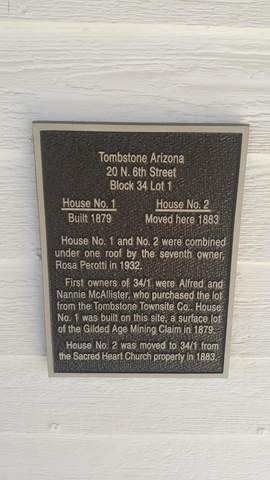 20 N 6TH Street, Tombstone, AZ 85638 (MLS #6066381) :: Conway Real Estate