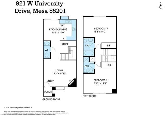 921 W University Drive #1222, Mesa, AZ 85201 (MLS #6075092) :: The Property Partners at eXp Realty