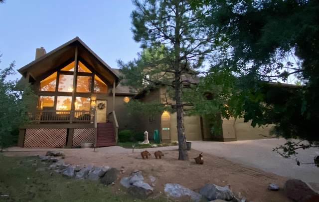 3623 N Bobcat Court, Pine, AZ 85544 (MLS #6083512) :: Riddle Realty Group - Keller Williams Arizona Realty
