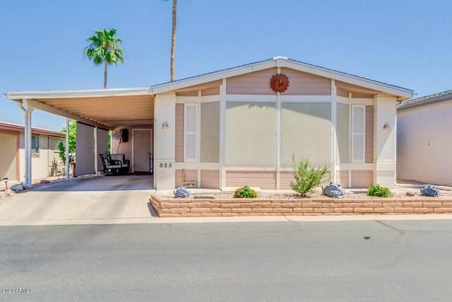 5735 E Mcdowell Road #325, Mesa, AZ 85215 (MLS #6085417) :: The Laughton Team