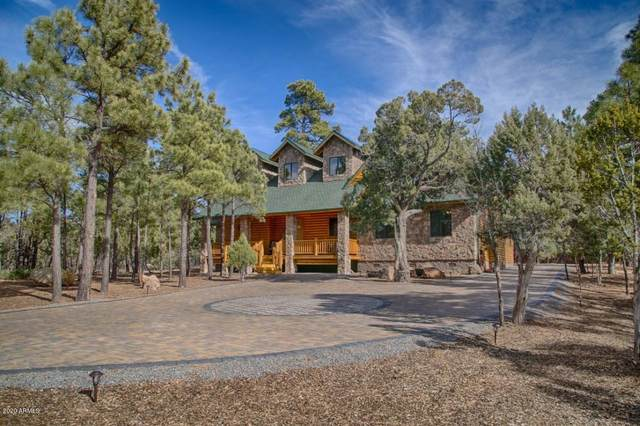 4550 W Hawthorn Road, Show Low, AZ 85901 (MLS #6085658) :: The Laughton Team
