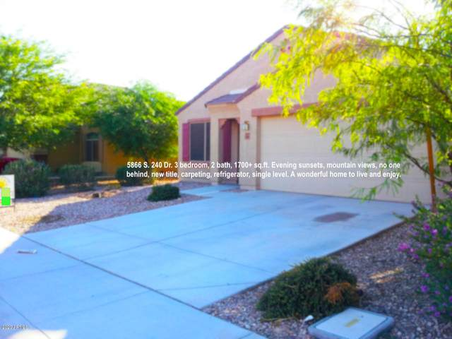 5866 S 240TH Drive S, Buckeye, AZ 85326 (MLS #6086066) :: Conway Real Estate