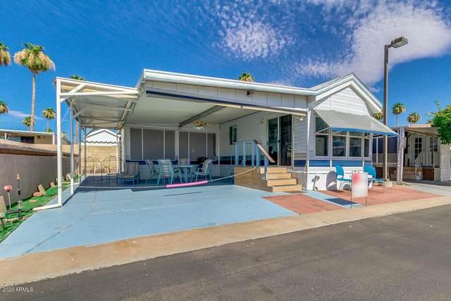 4700 E Main Street #141, Mesa, AZ 85205 (MLS #6095925) :: Brett Tanner Home Selling Team
