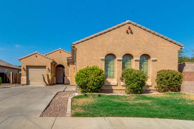 3138 E Santa Fe Lane, Gilbert, AZ 85297 (MLS #6136047) :: The Laughton Team