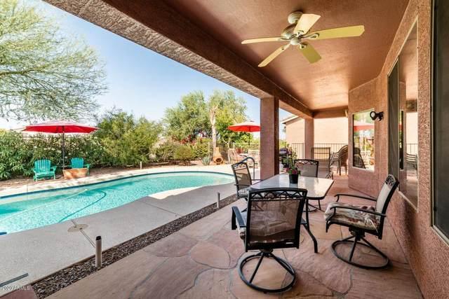 20288 N Harmony Pass, Maricopa, AZ 85138 (MLS #6149134) :: Brett Tanner Home Selling Team