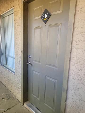 1331 W Baseline Road #216, Mesa, AZ 85202 (MLS #6150151) :: Maison DeBlanc Real Estate