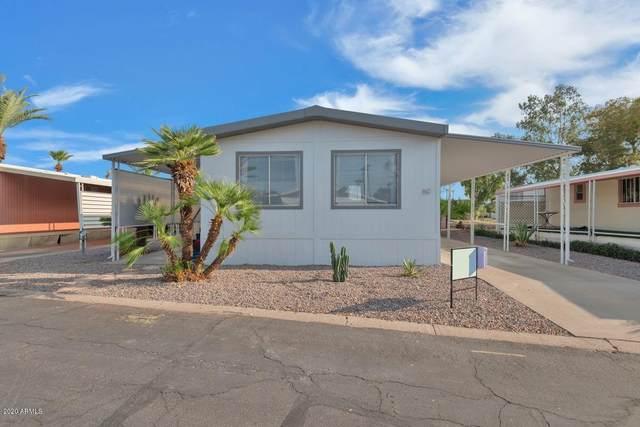 2727 E University Drive #60, Tempe, AZ 85281 (MLS #6155787) :: Brett Tanner Home Selling Team