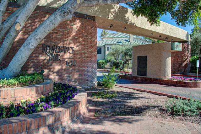 101 N 7TH Street #160, Phoenix, AZ 85034 (MLS #6159413) :: Brett Tanner Home Selling Team
