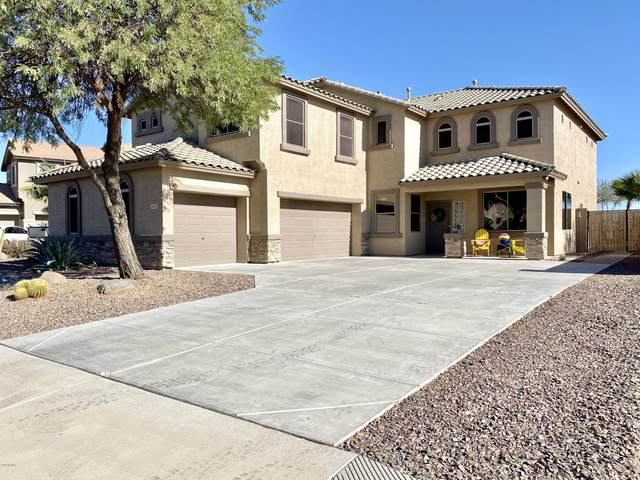 21923 N Van Loo Drive, Maricopa, AZ 85138 (MLS #6167348) :: Yost Realty Group at RE/MAX Casa Grande