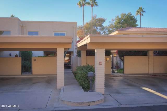 4525 N 66TH Street #90, Scottsdale, AZ 85251 (MLS #6173684) :: Maison DeBlanc Real Estate