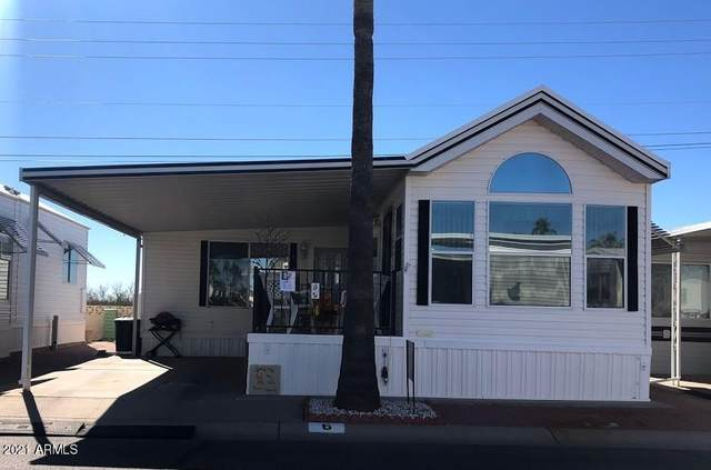 6 S Orecart Drive, Apache Junction, AZ 85119 (MLS #6186262) :: The Laughton Team