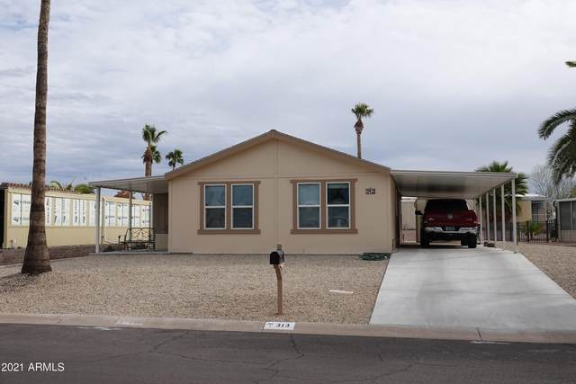 313 S 72ND Place, Mesa, AZ 85208 (#6188373) :: The Josh Berkley Team
