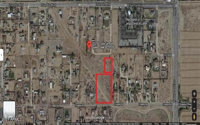 0 E Happy Road, Queen Creek, AZ 85142 (MLS #6197999) :: CANAM Realty Group