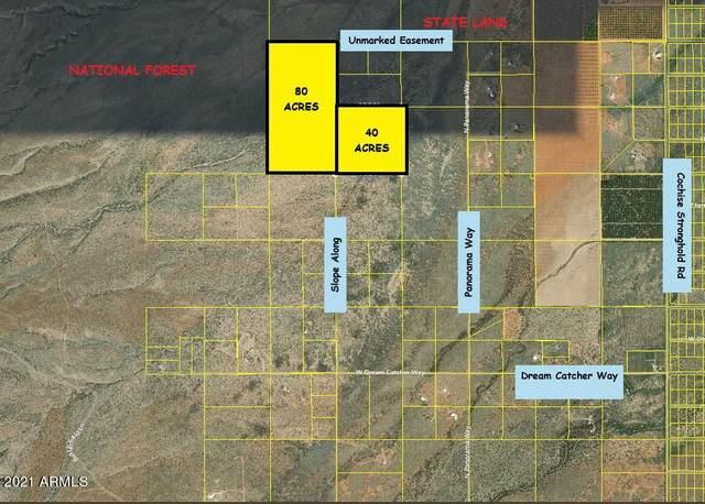 (2 LOTS) 120 Acre Slope Along Way, Cochise, AZ 85606 (MLS #6201325) :: Klaus Team Real Estate Solutions